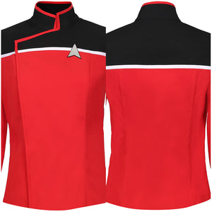 Star Trek: Lower Decks Season 1-Men's Uniform Shirt Top Only Cosplay Costume