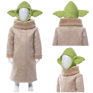 Star Wars Baby Yoda The Mandalorian Suit For Kids Children Cosplay Costume