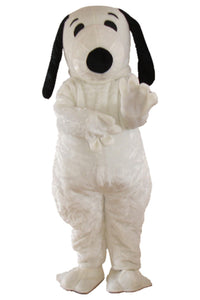 Lovely Doggy Mascot Costume Cartoon Suit Adult size