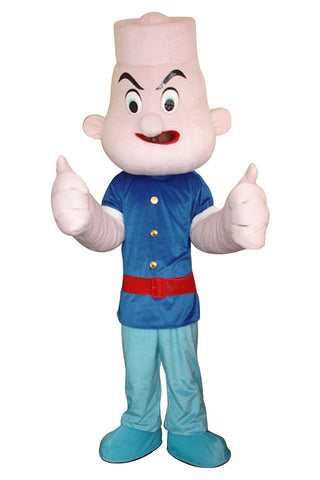 Popeye the Sailor Mascot Costume Adult Size