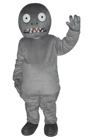 Zombie of Plants vs. Zombies PVZ Mascot Costume Adult Size