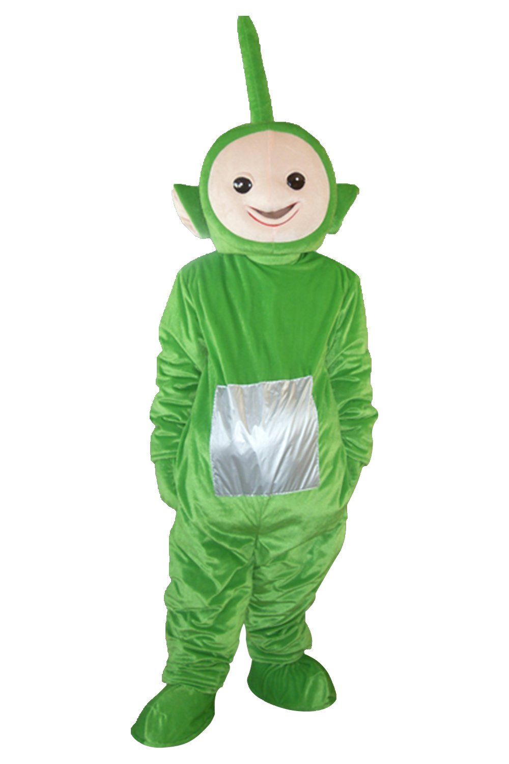 Green Teletubbies Mascot Costume Adult Size