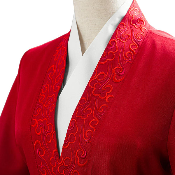 Movie Mulan 2020 Hanfu Womens Garments Cosplay Costume