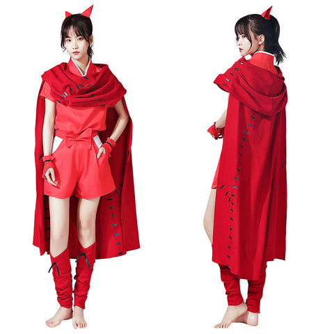Yashahime: Princess Half-Demon Cloak Outfit Moroha Halloween Carnival Suit Cosplay Costume