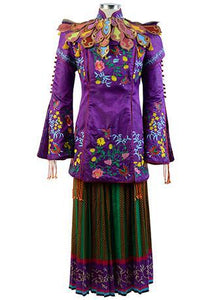 Alice Through The Looking Glass Alice Mandarin Outfit Cosplay Costume