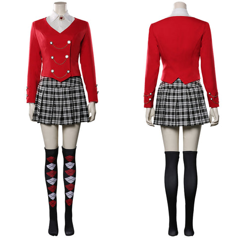 Heathers The Musical Uniform Skirt Outfit Heather Chandler Halloween Carnival Costume Cosplay Costume