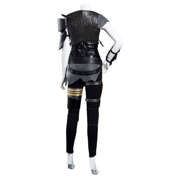 Movie Monster Hunter Vest Pants Outfit Artemis Halloween Carnival Suit Cosplay Costume