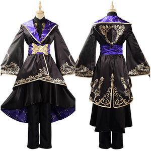 Game Twisted Wonderland Halloween Carnival Suit Adult Women Dress Uniform Outfit Cosplay Costume