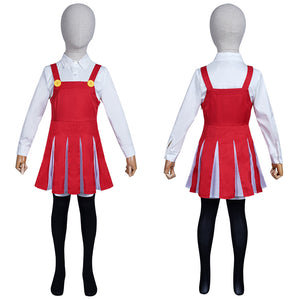 My Boku no Hero Academia Kids Gils Shirt Skirt Outfit Eri Halloween Carnival Suit Cosplay Costume