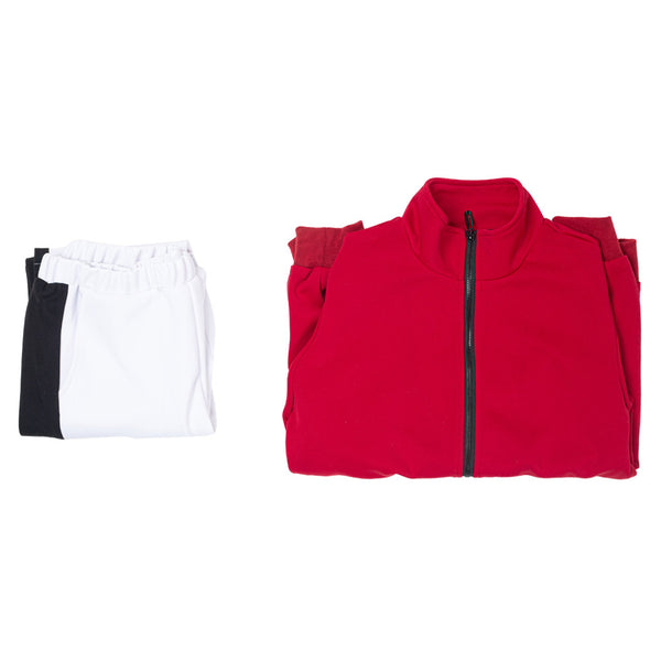 Haikyuu Inarizaki High School Uniform Volleyball Sportswear Team Jacket Pants Set Cosplay Costume