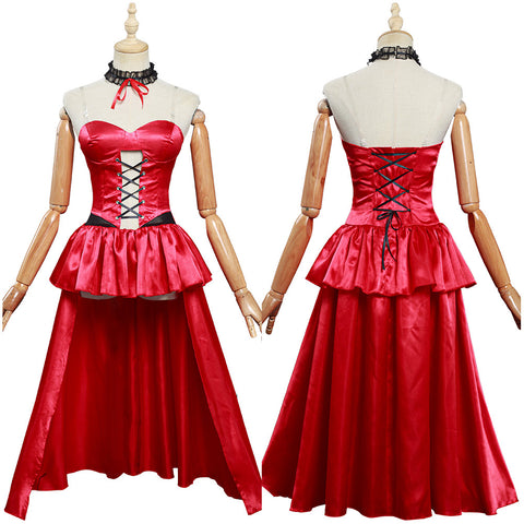 Anime Date A Bullet Women Girls Dress Outfit Tokisaki Kurumi Halloween Carnival Costume Cosplay Costume