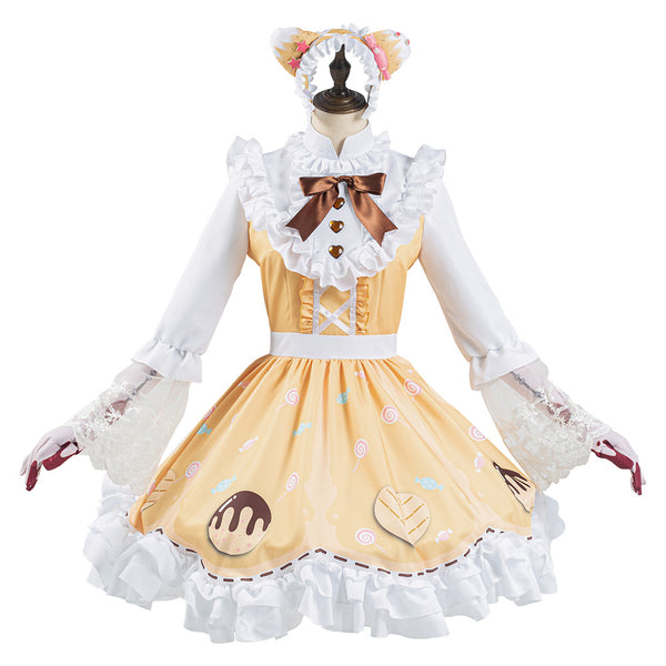 Game Identity V New Skin Candy Girl Lolita Dress Outfit Machinist Tracy Reznik Halloween Carnival Suit Cosplay Costume