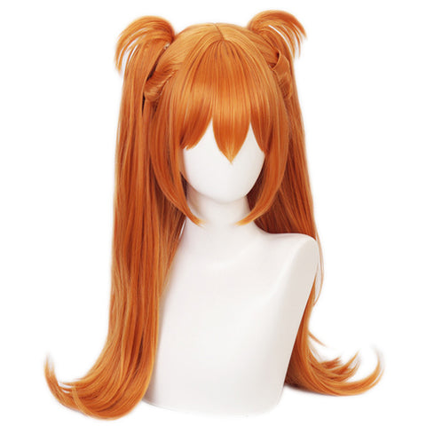 Neon Genesis Evangelion EVA Heat Resistant Synthetic Hair Asuka Langley Soryu Carnival Halloween Party Props Cosplay Wig