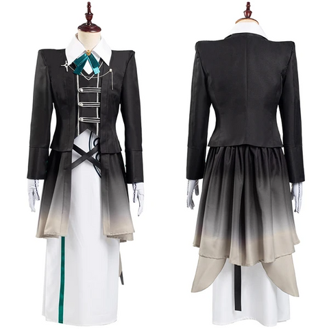 Game Identity V Coat Dress Outffit Scryer Eli Clark Halloween Carnival Suit Cosplay Costume