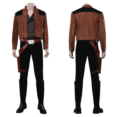 Solo: A Star Wars Story Outfit Han Solo Halloween Carnival Costume Cosplay Costume