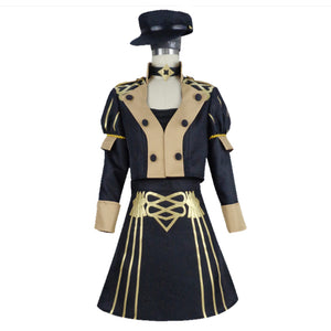 Game Fire Emblem:Three Houses Dorothea Women Uniform Outfit Halloween Carnival Costume Cosplay Costume