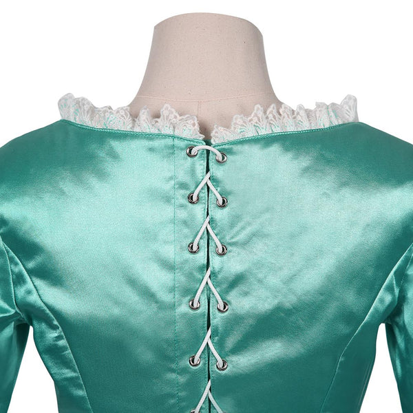 Musical-Hamilton Blue Locklino Lin Dress Cosplay Costume Halloween Carnival Suit