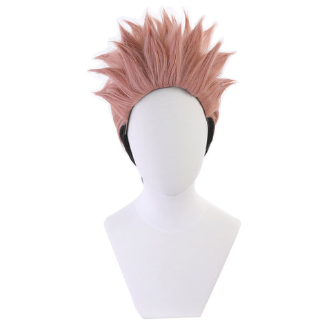 Jujutsu Kaisen Ryomen Heat Resistant Synthetic Hair Sukuna Carnival Halloween Party Props Cosplay Wig