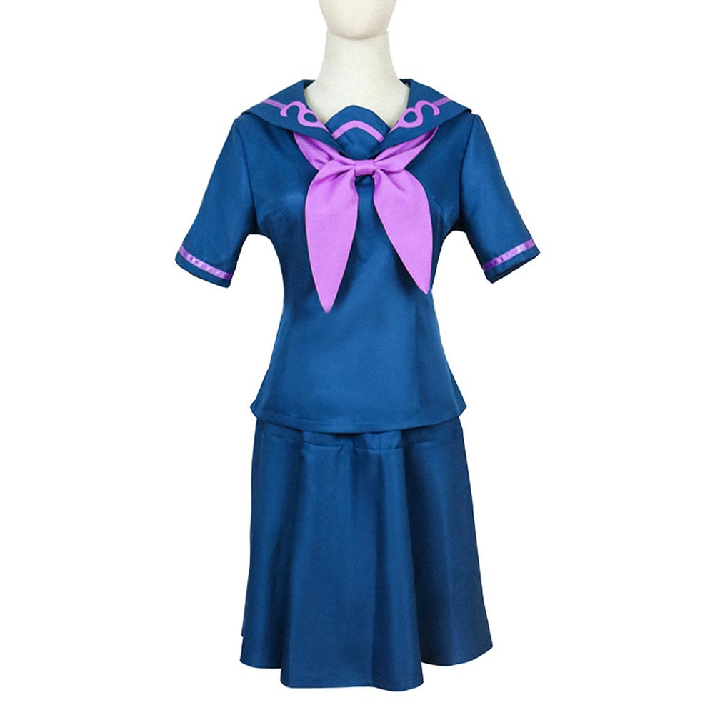 JoJo's Bizarre Adventure Uniform Skirt Outfit Yamagishi Yukako Halloween Carnival Suit Cosplay Costume