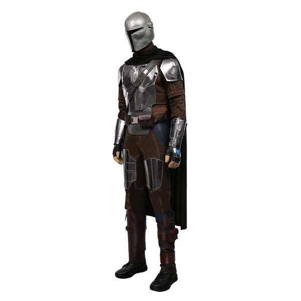 The Mandalorian Season 2 Outfit Din Djarin Halloween Carnival Suit Cosplay Costume