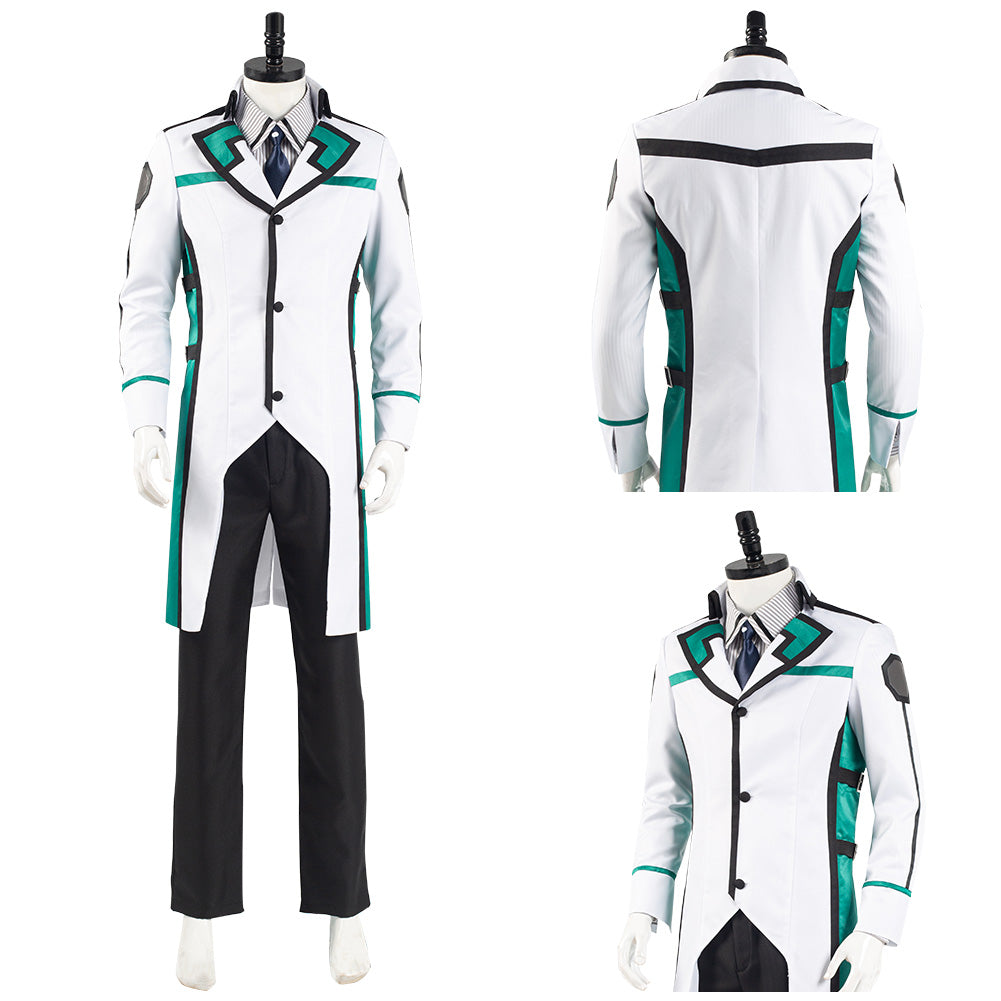 The Irregular at Magic High School Uniform Outfit Tatsuya Shiba Halloween Carnival Suit Cosplay Costume