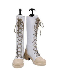 Demon Slayer: Kimetsu no Yaiba Tsuyuri Kanawo Boots Halloween Costumes Accessory Cosplay Shoes