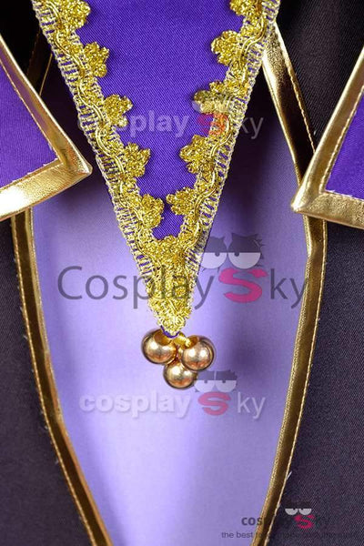 Fate/Stay Night Servant Caster Outfit Cosplay Costume