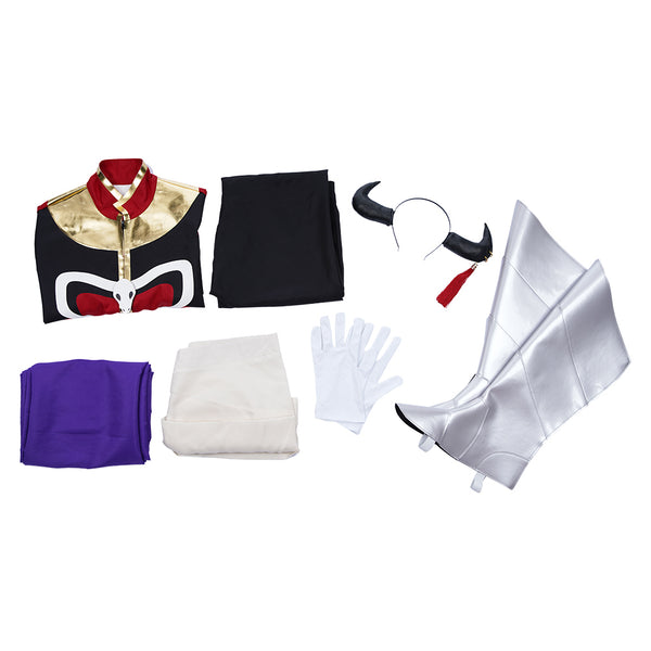 Anime Sleepy Princess in the Demon Castle/Maoujou de Oyasumi Demon Lord Tasogare Halloween Carnival Outfit Cosplay Costume
