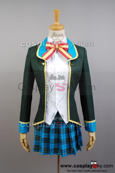 GJ-bu Mao Amatsuka Cosplay Costume