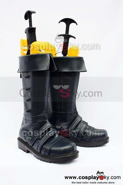 Hetalia: Axis Powers Prussia Cosplay Boots Black