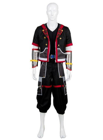 Kingdom Hearts III Protagonist Sora Outfit Uniform Cosplay Costume