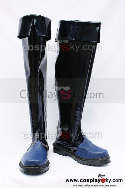 Letter Bee Goos Suede Cosplay Boots Shoes