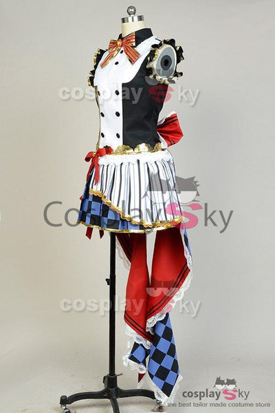LoveLive! Honoka Kousaka Cafe Maid Uniform Cosplay Costume