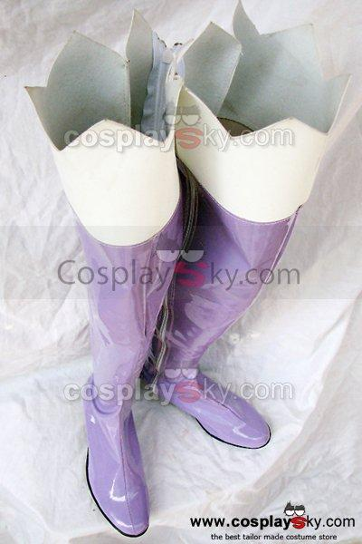 Macross Frontier Klein Klan Cosplay Boots Shoes