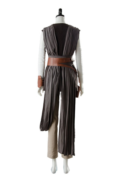 Star Wars 8 The Last Jedi Rey Outfit Ver.2 Cosplay Costume