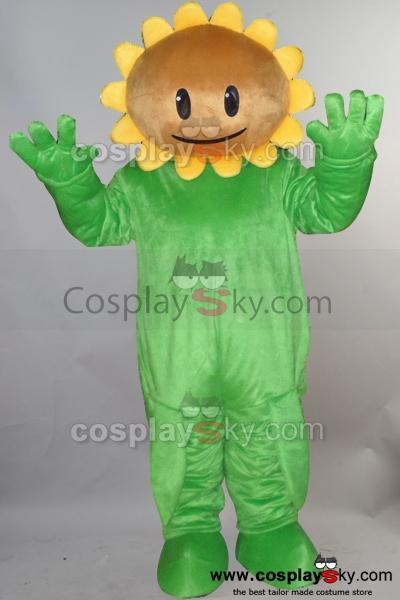 SunFlower of Plants vs. Zombies PVZ Mascot Costume Adult Size