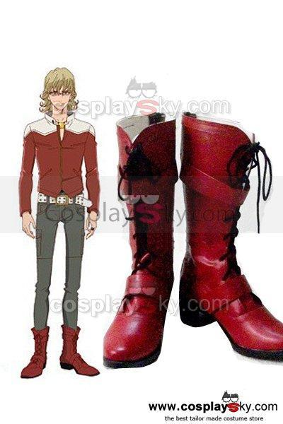 Tiger & Bunny Barnaby Brooks Jr Cosplay Boots Shoes