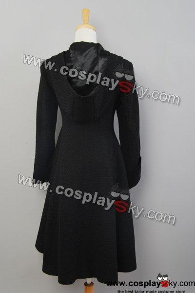 Twilight Eclipse Volturi Jane Black Dress Coat Costume
