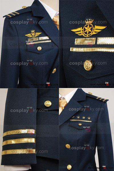 Uta no Prince-sama Shining Airlines First Officer Uniform Costume