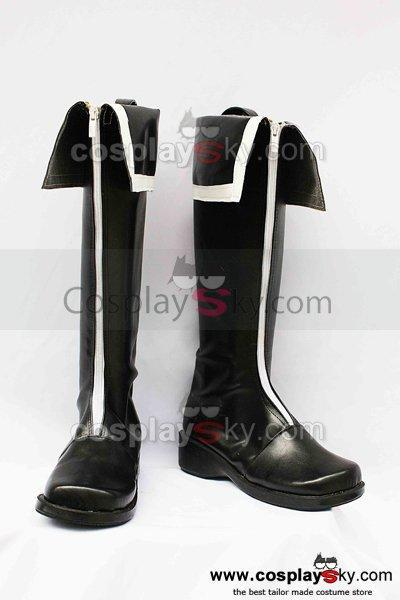 Vocaloid Miku Black Rock Shoote Cosplay Boots Custom Made