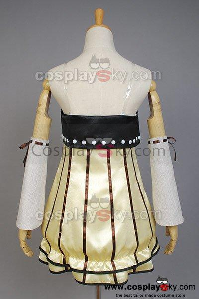 Vocaloid Project DIVA-f Rin Cosplay Costume