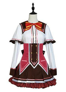 Wagamama High Spec Ashe R. Sakuragi Dress Cosplay Costume