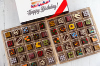 King Size Happy Birthday Chocolate Art Box