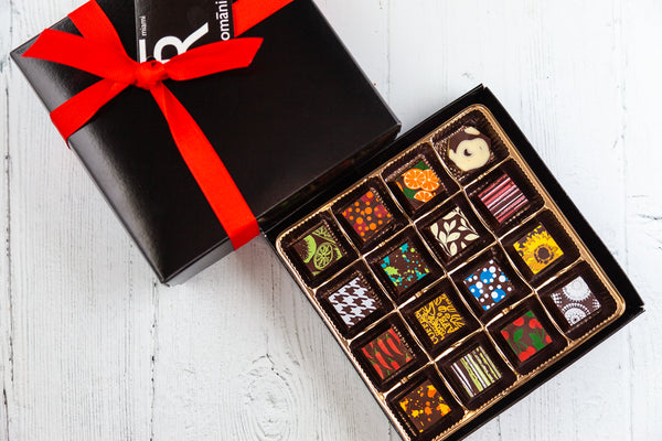 Queen Size Chocolate Art Box