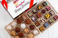 Queen Size Happy Birthday Signature Truffles Box