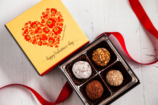 Valentine's Day Piccolo Size Signature Truffles Box