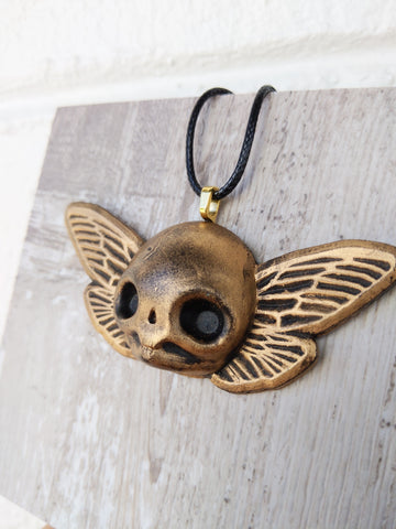 Cicada Skull Necklace
