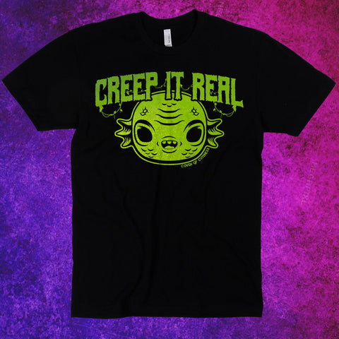 Creep It Real Black T-Shirt