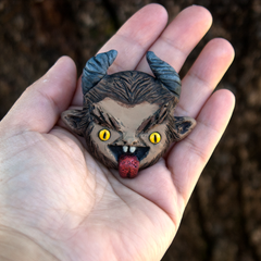 Krampus Pin Limited Edition