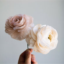 Load image into Gallery viewer, Wafer Flower: Ranunculus (Online Class)
